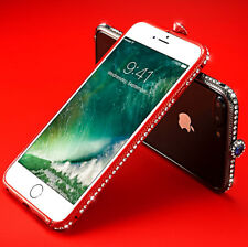 Bling Diamond Metal Bumper Case For iPhone 6 6s 7 7 Plus With Swarovski Elements