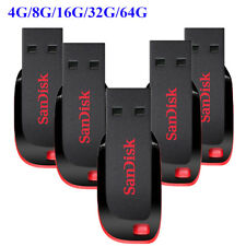 SanDisk Cruzer Blade 8GB 16GB 32GB 64GB USB 2.0 Flash Memory Pen Drive Stick Lot