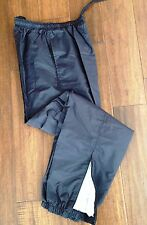 """Holloway Sportswear Water Wind Resistant """"Runner"""" Black Pants Youth Adult Size"""