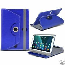 For Barnes & Noble Galaxy Tab 4 NOOK - Tablet Rotating PU Leather Case Cover