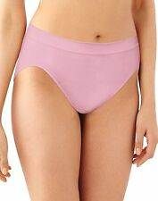 3 Pair Barely There by Bali Comfort Revolution Microfiber Seamless Hi Cut Panty