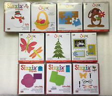 Sizzix Originals Die Large Cuts Folds Snowman Easter Tree Puzzle Frame - Choose