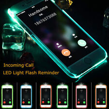 LED Flash Light UP Incoming Call Cover Case Skin For iPhone 6 6S US FAST SHIP