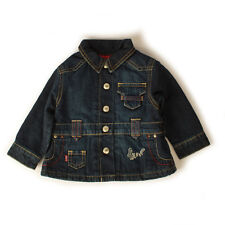 Baby Girls Levis Indigo Padded Denim Jacket