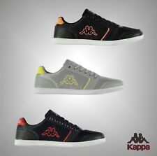 New Mens Branded Kappa Logo Stylish Lace Up Farul Trainers Footwear Size 7-12