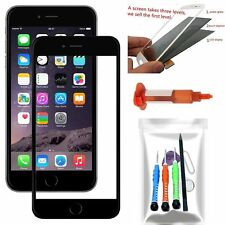 Front Outer Screen Glass Lens Replacement Tools Kit UV Glue Black For iPhone 7