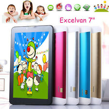"7"" Capacitive Touch Screen Kids Tablet PC Dual Core Android 4.4 8GB Dual Camera"