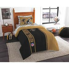 NFL New Orleans Saints Soft and Cozy Bed in a Bag Complete Bedding Set