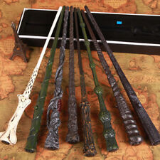 LED Harry Potter Wand Magic Hermione Dumbledore Voldemort Film Toy Gift Box