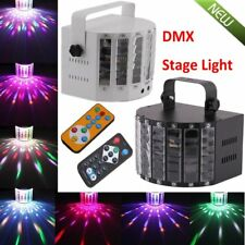 DMX512 LED RGBWY Strobe Stage Light Sound Active Laser Projector DJ KTV EW