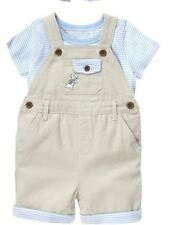 NWT Gymboree Peter Rabbit Baby Boy Outfit Overalls with Shirt SET 3 6 12 18M