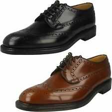 Mens Loake Formal Brogue Shoes Braemar