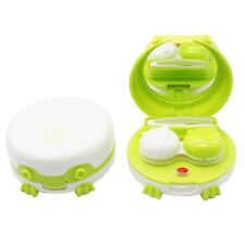 Cute Portable Electric Contact Lens Auto Cleaner Washer Cleaning Device New
