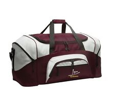 Dance Personalized - Colorblock Sport Large Duffle Bag Great For The Gym Or Tra