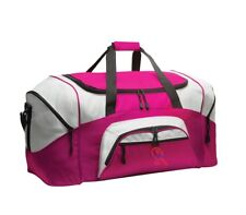 Tennis Personalized - Colorblock Sport Large Duffle Bag Great For The Gym Or Tr