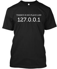 There Is No Place Like - There'is 127.0.0.1 Hanes Tagless Tee T-Shirt
