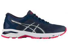 NEW WOMENS ASICS GT-1000 V6 GEL RUNNING SHOES TRAINERS INSIGNIA BLUE / SILVER