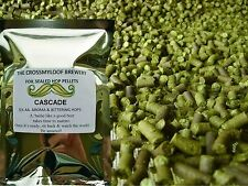 25g - 450g Cascade Hop Pellets. Fresh 5.1% or 8.1% AA for Home Brew.Brewing hops