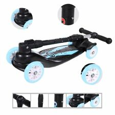 4 Wheels Flashing Skateboard Children Scooter Foldable Free-of-installation SY