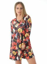 NEW WOMENS LADIES HALLOWEEN ABI WITCH CRAFT DRESS  HAREM COSTUME SIZES 8 - 22