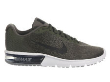 NEW MENS NIKE AIR MAX SEQUENT 2 RUNNING SHOES TRAINERS CARGO KHAKI / BLACK / MED