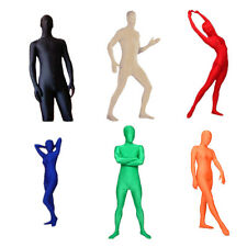 Full Body Lycra Spandex Skin Suit Catsuit Halloween Party Zentai Costumes New