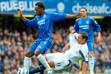 Chelsea FC player Michael Essien v West Ham photograph, picture, print by AEP