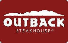 Outback Steakhouse Gift Card New
