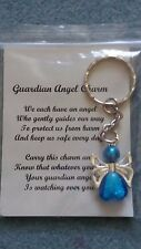 HANDCRAFTED GUARDIAN ANGEL CHARMS RUSSIAN DOLL KEYRING/BAGCHARM TEACHER GIFT