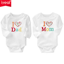 Newborn Baby Clothing Long Sleeve Cotton Embroider Rompers Girls Boys Clothes