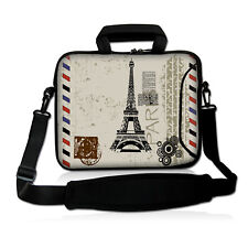 """10 Inch 10.1"""" Neoprene Sleeve Bag Case Pouch For Netbook Laptop iPad PC Tablet"""