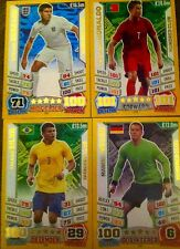 MATCH  ATTAX 2014 WORLD CUP  ENGLAND MAN OF THE MATCH + HUNDRED  CLUB MINT