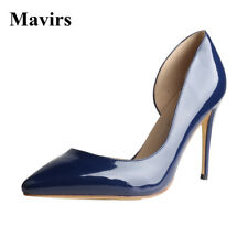 US 5-15 Womens Pointed Toe Stiletto High Heels Pumps Party Wedding Dress Shoes