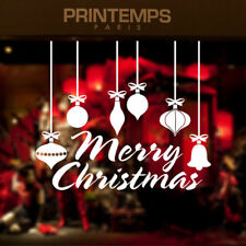 Merry Christmas Quotes Wall Stickers Decals Home Decor Art Removable Vinyl Mural