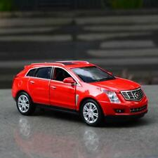 DIECAST METAL 1:32 CAR MODEL TOYS PULL BACK CADILLAC SRX REPLICA SUV SOUND LIGHT