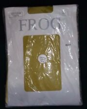 New Frog Footless Lace Edge Footless Tights One Size