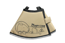 The Comfy Cone Pet Recovery - Soft Cone Shaped Collar Small Tan by All Four Paws