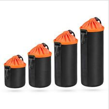 Functional Camera Lens Case bags Shockproof Pouch For Canon Sony Nikon