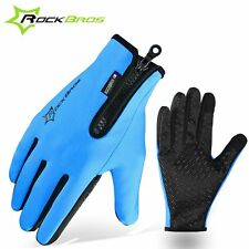Winter Gloves Fleece Thermal Warm Bike Sport Gloves Motorcycle Cycling Bicycle