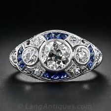 925 Silver 4.1CT White Topaz Sapphire Women Jewelry Ring Wedding Ring Size 6-10