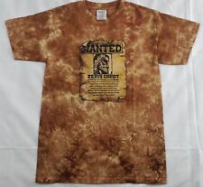 New Cotton 100% T-Shirt 'Wanted Poster' Christian Religious Unisex Hand Tie Dyed
