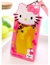 Cute Hellokitty Working Card Holder ID Card Case Travelling Room Card Holder LL2
