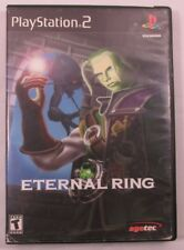 Eternal Ring (Sony PlayStation 2, 2000) Cleaned & Tested!