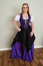 RENAISSANCE Full Length Skirt Medieval Civil War Re-enactment Pirate Wench Gypsy