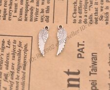 Wholesale 20Pcs Tibetan Silver Wing Charms Pendants Jewelry 16MM Z27