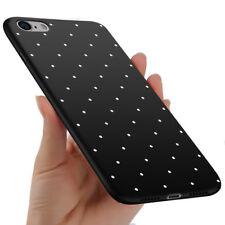 TPU Polka Dot Cute Case For iPhone 8 7 6 Slim Frosted Full Protect Cover 8 Plus