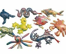 Cute Collectable Design Sand Animal Keyring Lobster Gecko Frog Turtle Elephant