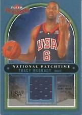 2003-04 Fleer Patchworks National Patchtime USA #TM Tracy McGrady Jersey /200