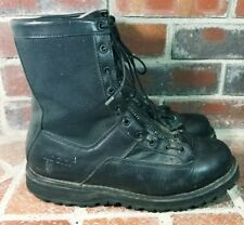 Rocky 'Portland' Men's Size 9.5 Black Lace To Toe Waterproof Duty Boots