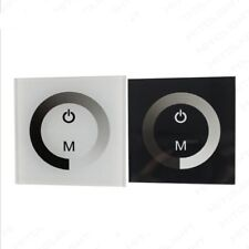 LED Light Dimmer Controller Wall Mounted Switch Sensitive Touch Panel DC 12V-24V